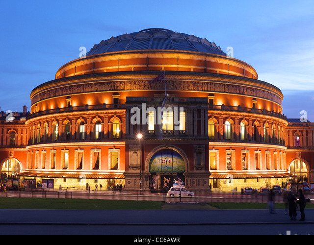 Albert hall exterior stock photos albert hall exterior for Door 8 royal albert hall
