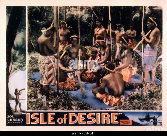 ISLE OF DESIRE, 1930s - Stock Image