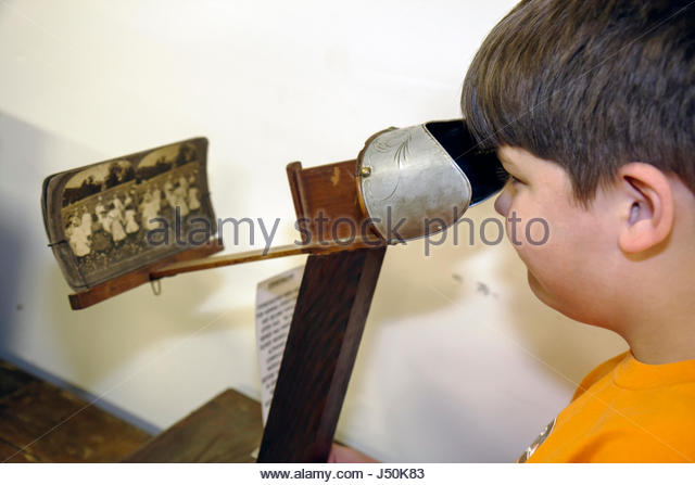 Alabama Troy Pioneer Museum of Alabama history regional education past Southern life recreated village artifacts - Stock Image