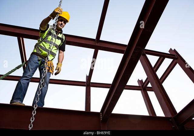 Steel worker 01 - Stock Image
