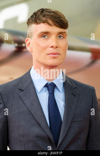 London, UK. 13th July, 2017. Cillian Murphy at World Premiere of DUNKIRK on Thursday 13 July 2017 held at ODEON - Stock Image