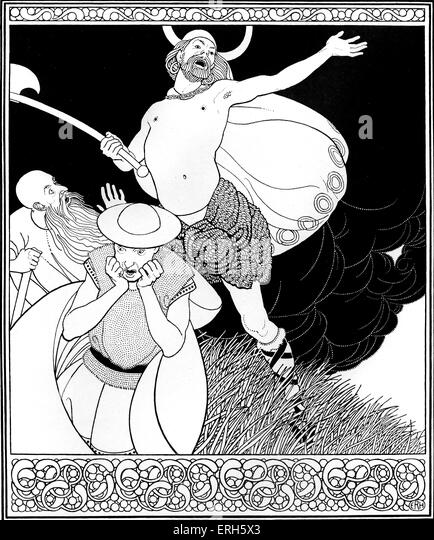 Faith, Half-Faith, and No Faith At All by Robert Louis Stevenson, illustration by E. R. Herman (dates unknown). - Stock Image