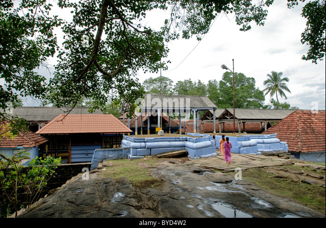 VILWADRINATHAN TEMPLE IN THIRUVILWAMALA KERALA - Stock-Bilder