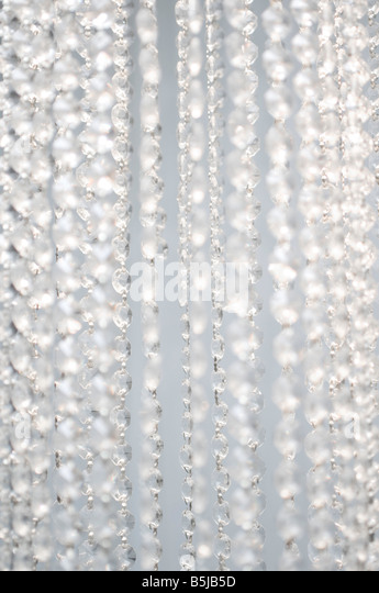 close-up of curtain - Stock Image