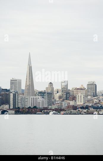 San francisco skyline - Stock Image