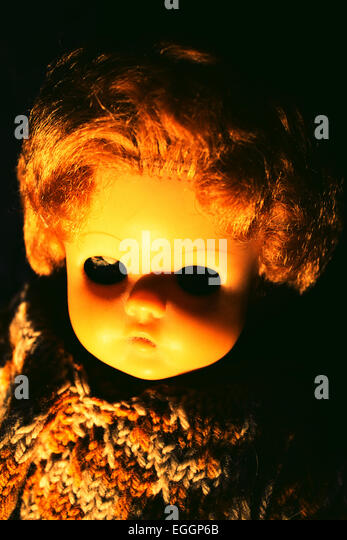 A moment of horror - Stock Image