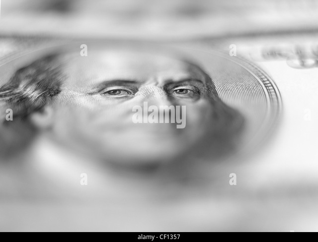 $100 banknote background. - Stock Image