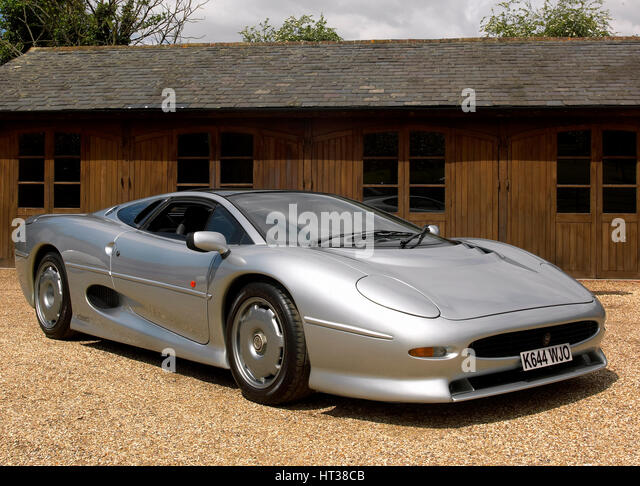 1992 Jaguar XJ 220. Artist: Unknown. - Stock Image