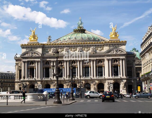 paris opera house stock photos paris opera house stock images alamy. Black Bedroom Furniture Sets. Home Design Ideas