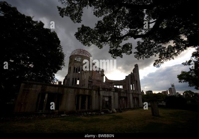 The Atomic bomb Dome, Hiroshima, Japan. - Stock Image