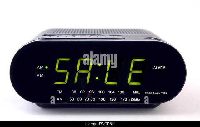 Digital Radio Clock Stock Photos Digital Radio Clock