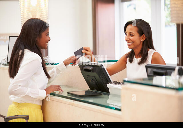 Black Hotel Receptionist Stock Photos & Black Hotel ...