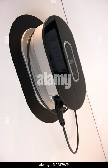 Charger For Plug-in Hybrid Cars - Stock Image
