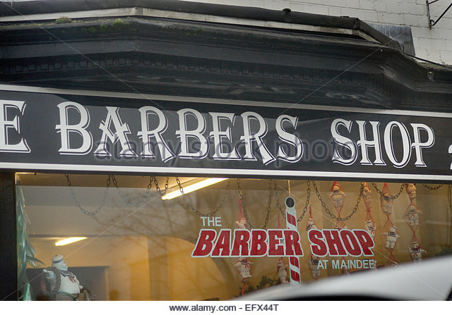 Barbers Shop Hairdresser hairdressers Newport area Wales UK Shop ...