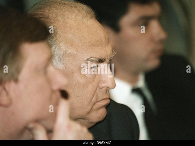 Prime Minister Viktor Chernomyrdin - Stock Image