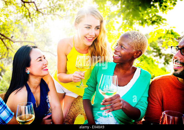 Girls Talking Chilling Friendship Leisure Friends Concept - Stock-Bilder