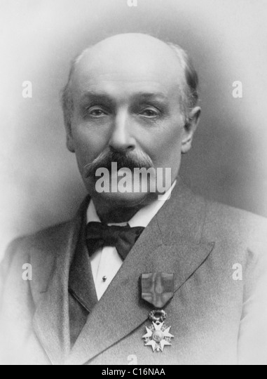 English politician and pacifist Sir William Randal Cremer (1828 - 1908) - winner of the Nobel Peace Prize in 1903. - Stock Image