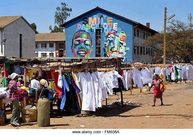 Zimbabwe, Harare, Mbare market - Stock Image
