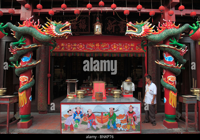 Malaysia, Melaka, Malacca, Sanduo Temple - Stock Image
