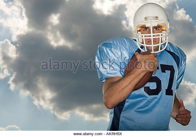 American football player - Stock Image