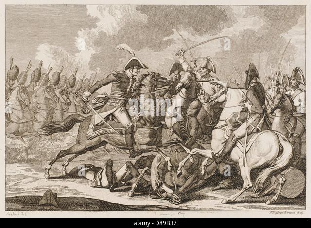 Bessieres At Austerlitz - Stock Image