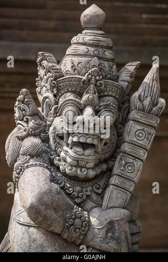Demon statue stock photos images alamy