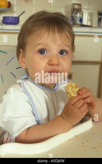 early feeding - Stock Image