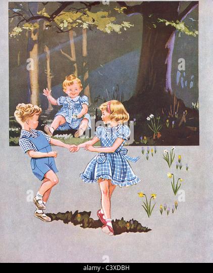 An advertisement for Horrockses Pirouette. England, UK, 1951 - Stock-Bilder
