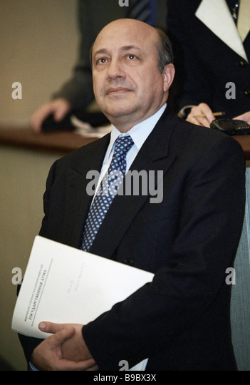 Russian Foreign Minister Igor Ivanov - Stock Image