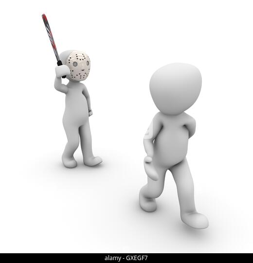 Movie characters 8 - Stock Image