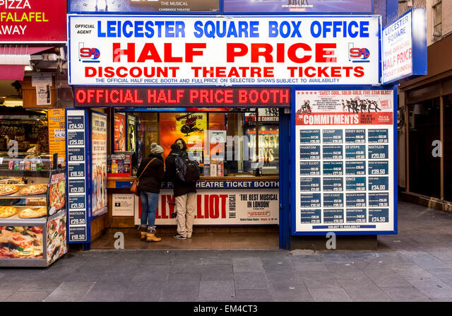 half price booth leicester square