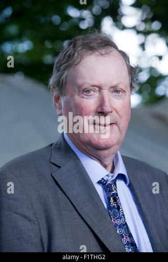 Ferdinand Mount, is a British writer and novelist, at the Edinburgh International Book Festival 2015. Edinburgh, - Stock Image