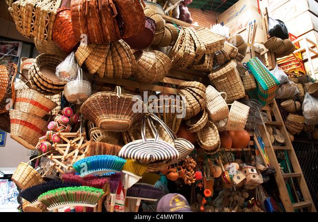 Bogota market - Stock Image
