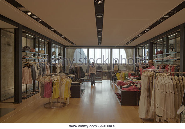 Clothing Store Interior Design Stock Photos Clothing Store