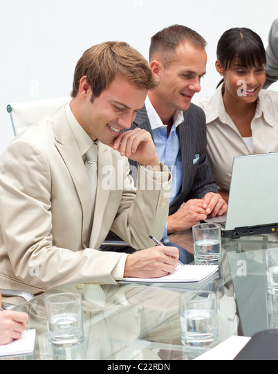 International business people in a meeting - Stock-Bilder