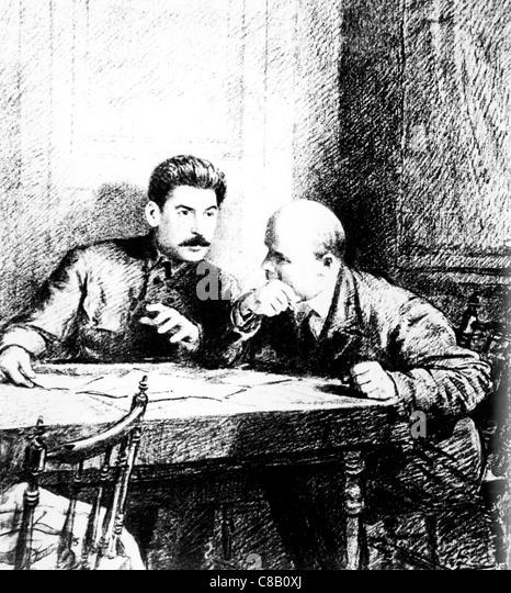 Stalin And Lenin Stock Photos & Stalin And Lenin Stock ...
