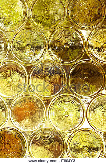 Abstract colored window glass - Stock Image
