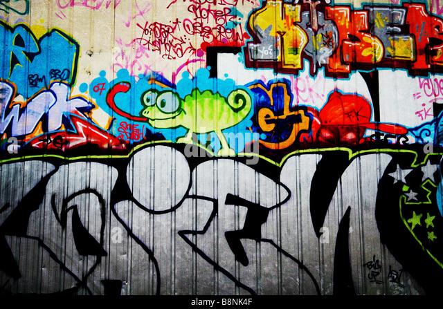 graffitti - Stock-Bilder