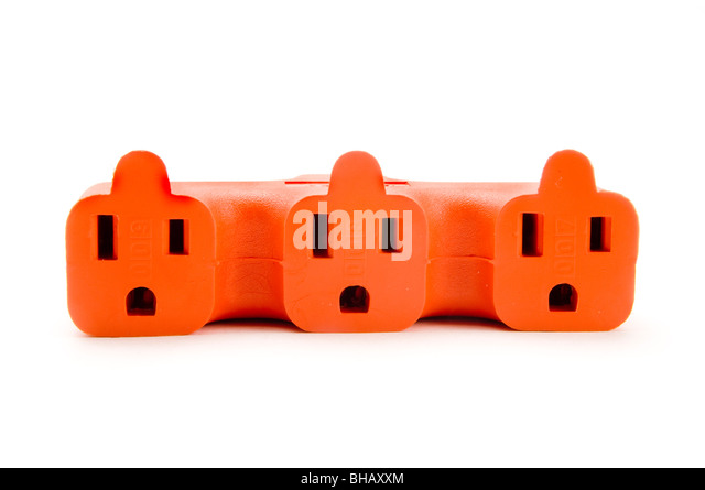 adapter plug - Stock Image