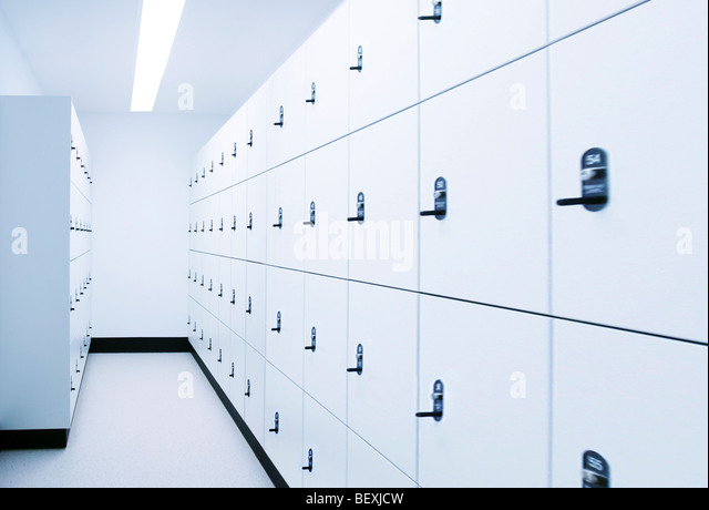 Locker Room - Stock Image