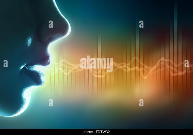 Equalizer sound wave background theme. Colour illustration. - Stock-Bilder