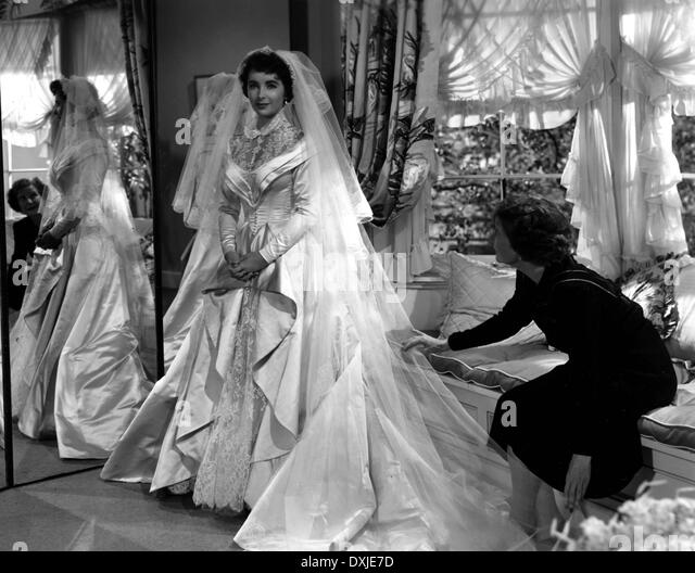 Father of the bride stock photos father of the bride for Elizabeth taylor wedding dress