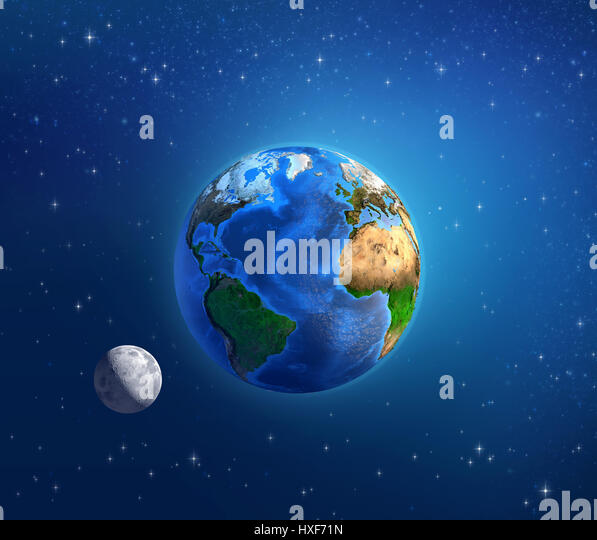 Outer space earth africa stock photos outer space earth for Outer space elements