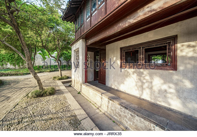 Humble Administrator's Garden in Suzhou - Stock Image