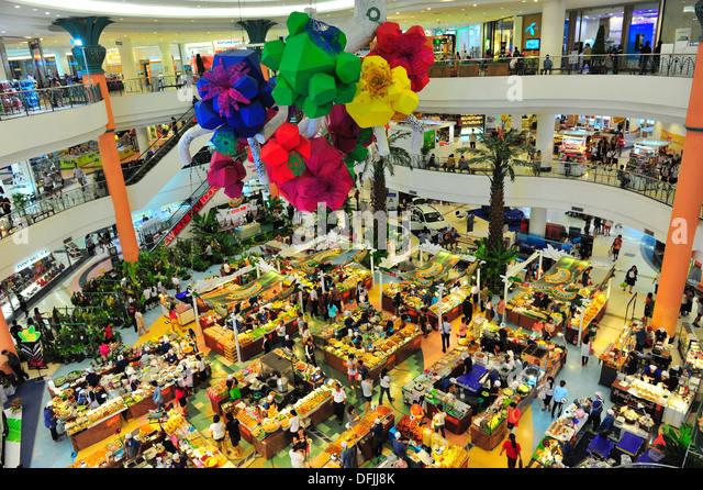 Thai street food festival at Thai shopping mall - Stock Image