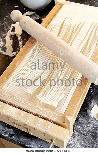 Pasta cutter - Stock Image