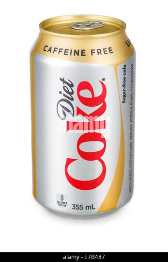Caffeine Free Diet Coke HS - Stock Image