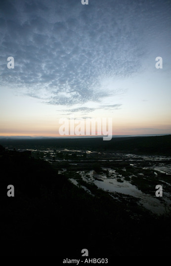 Olifants River Krueger Nationalpark - Stock Image