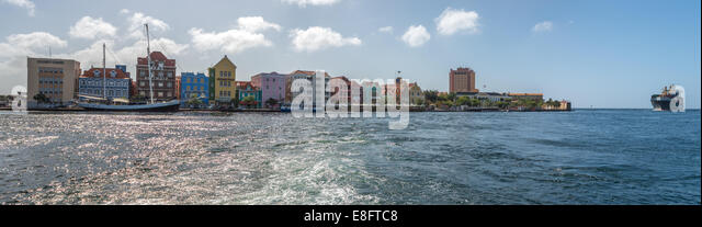 Willemstad, Curacao - Stock Image