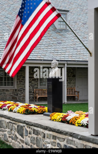 FDR Presidential Library, Hyde Park, New York, USA - Stock Image
